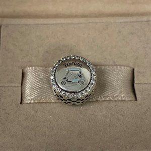 Pandora Florida golf Charm Bracelet Silver Jewelry
